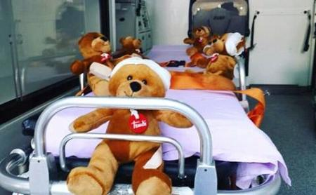 Paura di ambulanze, medici e ospedali? Arriva il Teddy Bear Hospital!